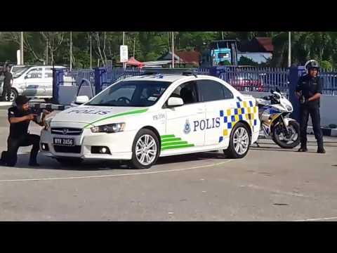Sketsa Khas & Demo T Baton Oleh PDRM Kerian, Sempena Sambutan Hari POLIS Ke - 210 Tahun 2017