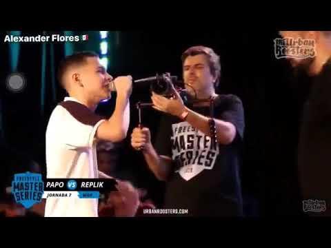 BRUTAL MINUTO LIBRE de REPLIK vs PAPO (Adiós Invicto) -FMS Jornada 7 Mar Del Plata