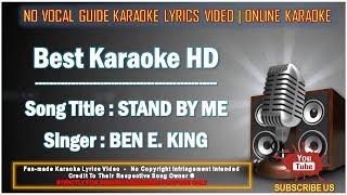 Ben E. King - Stand By Me | Karaoke | Minus One | No Vocal | Lyrics Video HD