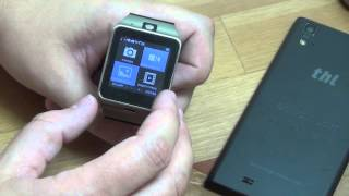 Aplus GV18 - умные часы с SIM. Дешево в магазине Banggood(Всё в одном. Практически полный набор функций и работа до 3х дней. Но с недостатками. Часы доступны с черным..., 2015-02-06T03:39:49.000Z)