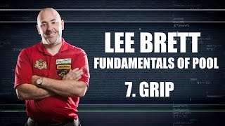APA Lee Brett Billiard Instruction - Pool Lesson 7 - The Grip