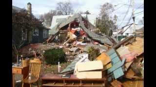 Hurricane Sandy: Aftermath of St. George & Cedar Grove Ave in Staten Island