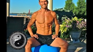 Standing on the Stability Ball (Swiss Ball) - Balance Part 2/2 Thumbnail
