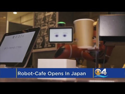Robot Replaces Barista In Tokyo Cafe