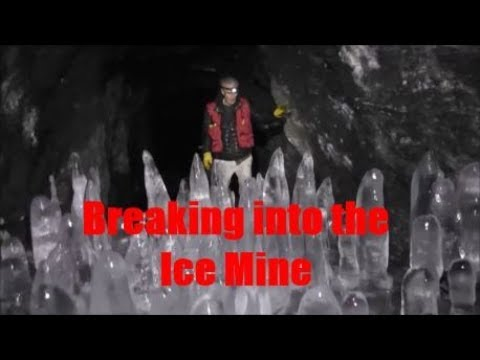 Breaking into a frozen mine.....The Lucky Jim.