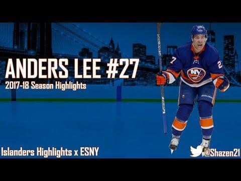 Anders Lee 2017-18 Season Highlights