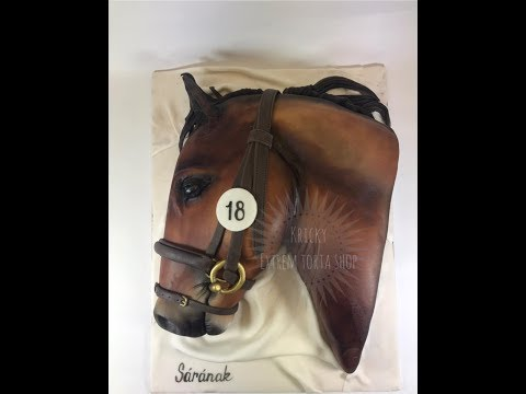 Kricky Cakes Decoration: Realistic Reacehorse Cake Tutorial 1080p