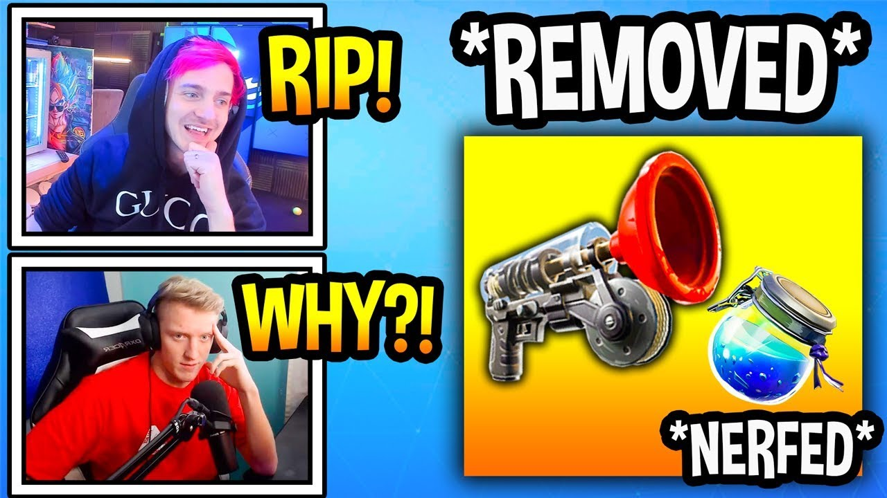 streamers-react-to-grappler-removed-shields-nerfed-again-fortnite-moments
