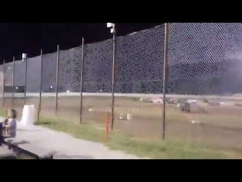 Lucas Dobbs getting Dumped at Nevada Speedway 9/2/17