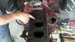 Ford Jubilee NAA Tractor Engine Rebuild Part 3 Manifold and Cylinder Head Removal