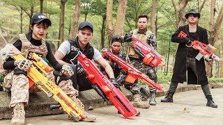 LTT Nerf War : SEAL X Warriors Nerf Guns Fight Criminal Group Dr Lee Fake Plan