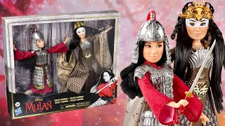 Mulan and Xianniang Hasbro Doll set Review & Unboxing (Live action) **Adult Collector**