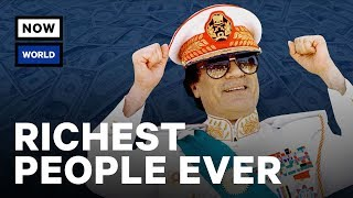 Who Were The Richest People In History? | NowThis World