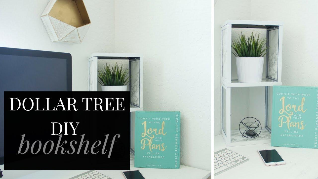 DOLLAR TREE DIY Bookshelf Best DIY Bookshelf under $20