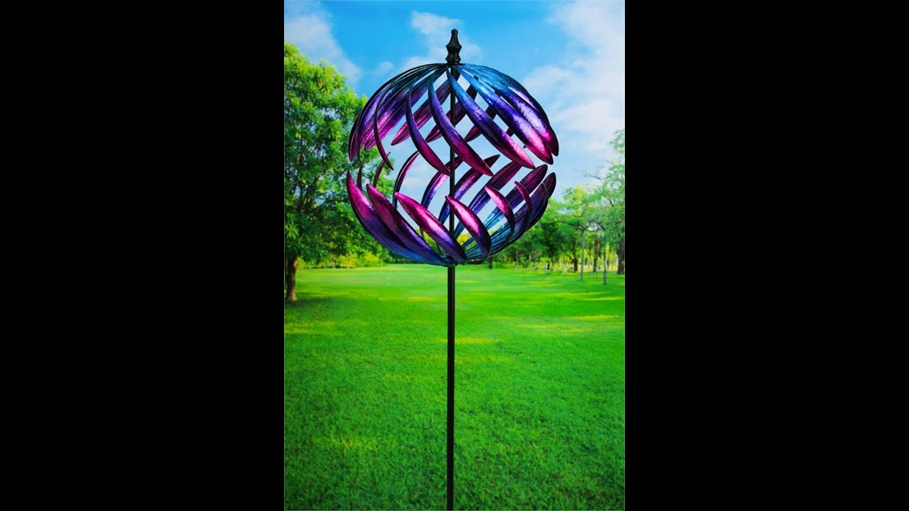 Attractive Metal Art Kinetic Garden Sculpture In Motion