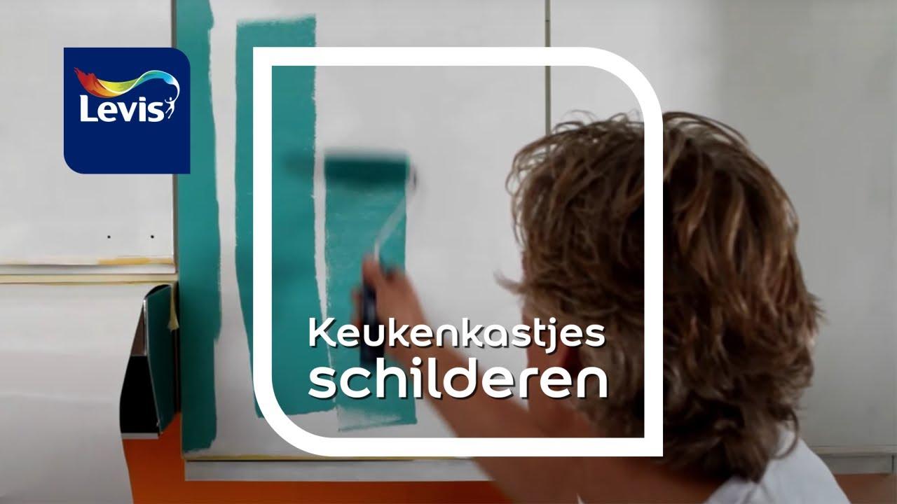 Ikea Keuken Schilderen : Hoe melamine schilderen levis youtube