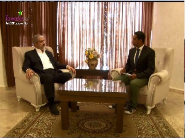 """برنامج """"لقاء"""" مع القيادي بحركة المقاومة الإسلامية (حماس) خالد مشعل - قناة المرابطون"""