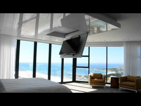 flap out scroll down tv lift youtube. Black Bedroom Furniture Sets. Home Design Ideas