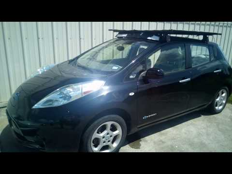 adding-two-200-watts-solar-panel-to-2011-nissan-leaf