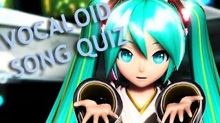 GUESS THE VOCALOID SONG QUIZ CHALLENGE [VERY EASY - EX-EXTREME] | 50+ VOCALOID SONGS