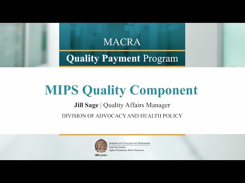 MIPS Quality Component