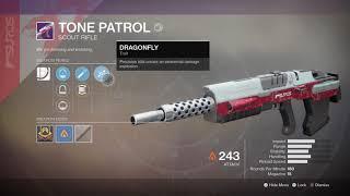 Destiny 2- Tone Patrol New Legendary Scout Rifle