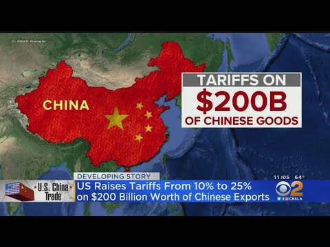 Wall Street In Turmoil Over Trade War With China