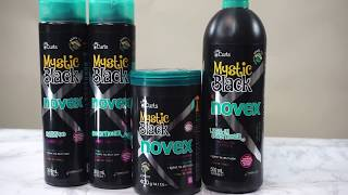 How to apply Novex Mystic Black