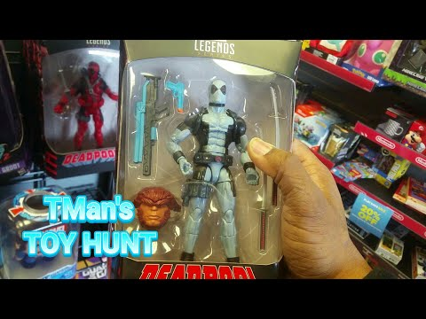 TMan's TOY HUNT #121: Finding Deadpool Wave with Clearance Haul