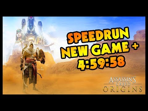 MON SPEEDRUN DE AC ORIGINS EN NEW GAME + (Xbox One | Any% | 02/20/18 | 4:59:58)