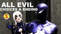 All Evil Choices and Evil Ending - Spider-Man Web of Shadows
