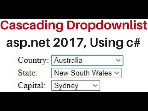 asp.net c# cascading dropdownlist remote database sql server