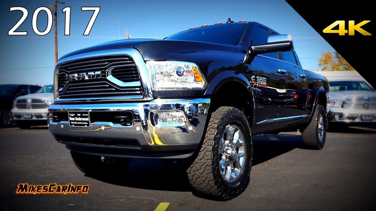 2017 ram 2500 limited customized quick look in 4k. Black Bedroom Furniture Sets. Home Design Ideas