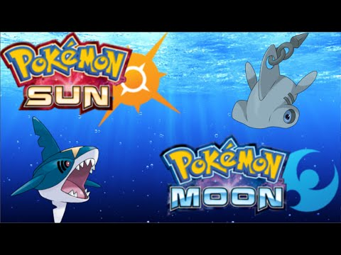 New Shark Pokemon In Sun Moon Youtube