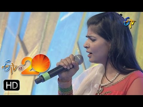 Chinmayi Performance - Ra Rakumara Song In Kadapa ETV @ 20 Celebrations