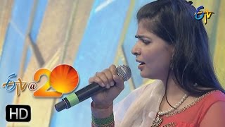 Chinmayi Performance Ra Rakumara Song in Kadapa ETV 20 Celebrations