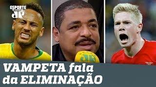OLHA o que VAMPETA falou da ELIMINAÇÃO do BRASIL na Copa