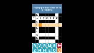Kruiswoordpuzzel Nederlands   Crossword Dutch Puzzles Game