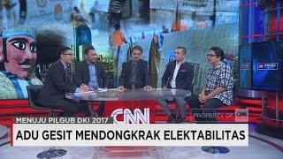 Adu Gesit Mendobrak Elektabilitas Menuju Pilgub DKI Jakarta 2017
