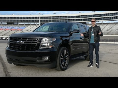 The 2018 Chevy Tahoe RST Is a $78,000, High-Performance Chevy Tahoe
