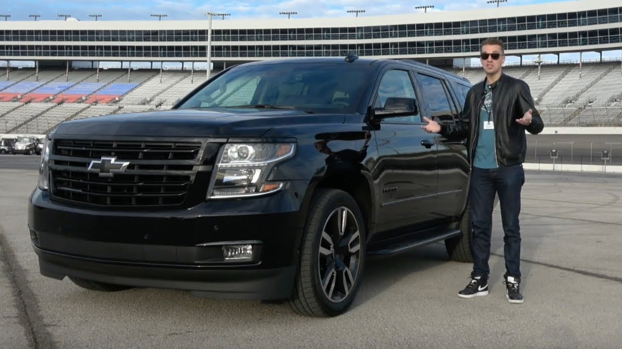 The 2018 Chevy Tahoe RST Is a $78,000, High-Performance ...