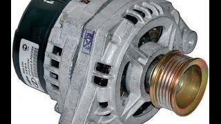 видео Как вытащить нижний болт генератора, как открутить гайку шкива