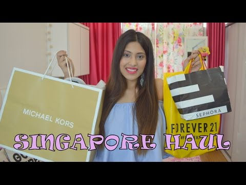 Singapore Haul (Sephora, Cotton On, Guardian, Bugis Street) | Tanisha Aggarwal