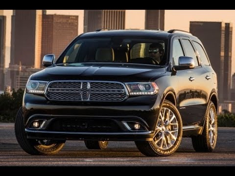 2014 Dodge Durango Start Up and Review 3.6 L V6