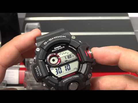 CASIO G-SHOCK REVIEW AND UNBOXING GW-9400-1 RANGEMAN TRIPLE SENSOR