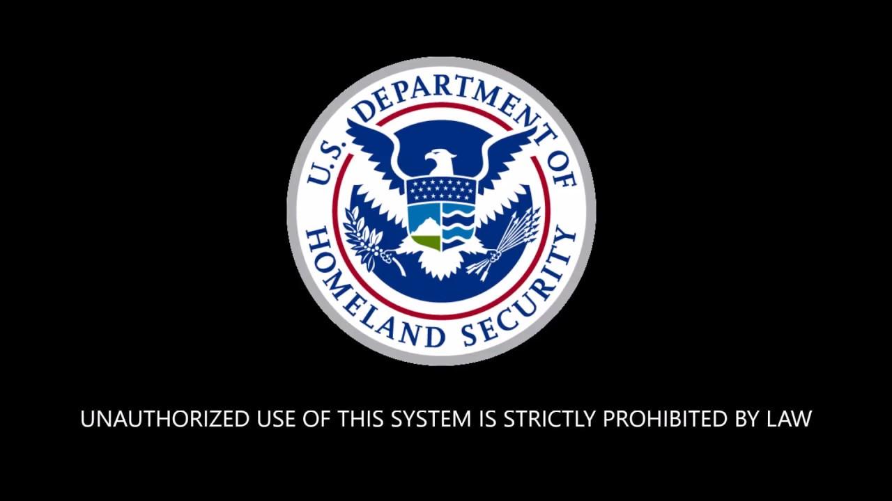 Department Of Homeland Security Desktop Screen Saver Wallpaper Star Spangled Banner
