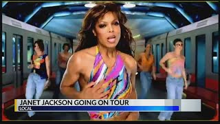Grammy-winning artist Janet Jackson is announcing her upcoming album and summer tour.