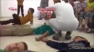 Syrien: Schulkinder die aufgrund eines