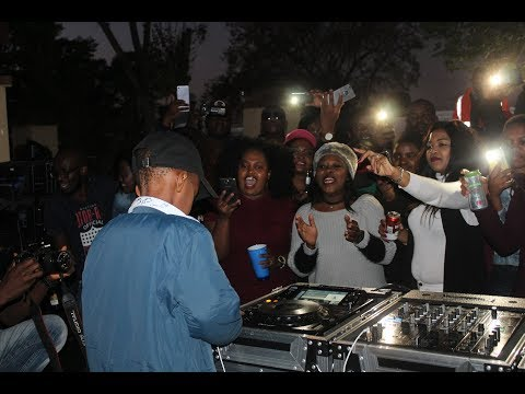 DJ Arch Jnr Performing Live At Platinum Lounge For His One Year World Record Anniversary  (6 yrs)