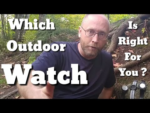 Outdoor Watches : Which One Is Right For You?